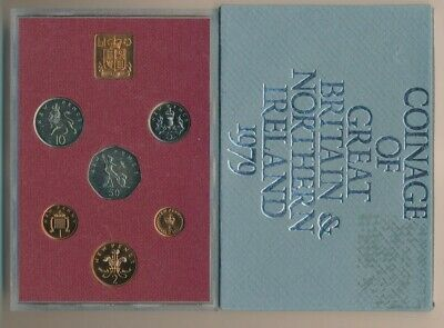 Great Britain: 1979  Proof  Set, 1/2p to 50p