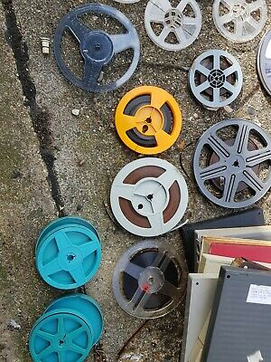 Super 8/standard 8mn Spools And Can Joblot