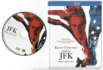 JFK Director's Cut Kevin Costner Digibook RARE BluRay