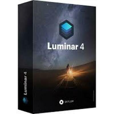 Luminar v4  2019! for Mac & PC! GENUINE License  KEY and Download