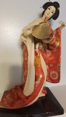 "Beautiful Handmade Asian Collection Japanese GEISHA Doll - 16"" inches size"