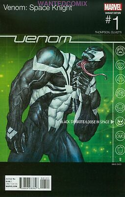 Venom Space Knight #1 Choi Hip Hop Variant Cover Marvel Comic Book 2015 New