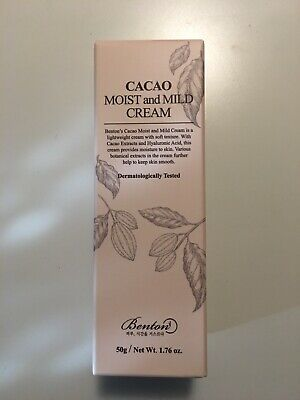 Benton Cacao Moist and Mild Cream 50g K-Beauty Cream Sealed