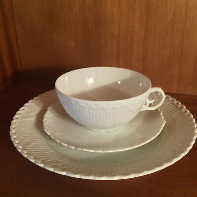 Royal Copenhagen Full Lace WHITE helblonde HVID  Tea Set