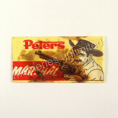 """1960s Peters Ice Cream """"MARSHAL"""" PAPER BAG/WRAPPER"""