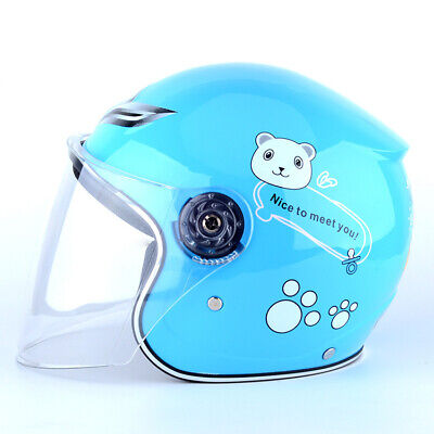 Children Cycling Helmet Full Face Girls Boys Safety Protector Motorcycle Helmet