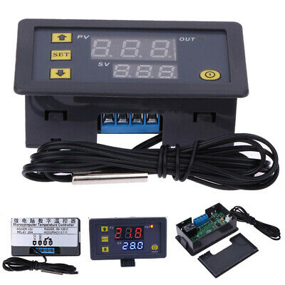 LCD Digitale Regolatore Di Temperatura DC 12V Accessori Termostato Industriale