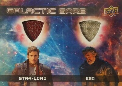 GUARDIANS of The GALAXY Vol 2 Costume Card GALACTIC Garb DM-4 Star-Lord & EGO
