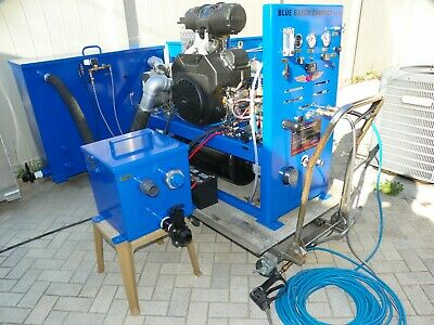 Truck Mount Carpet Cleaning Machine & Extractor Blue Baron Compact 45