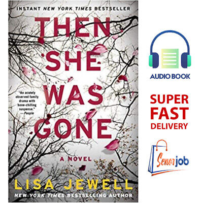 Then She Was Gone: A Novel, by Lisa Jewell 🔥AudioBook🔥 📧 SUPER FAST Delivery