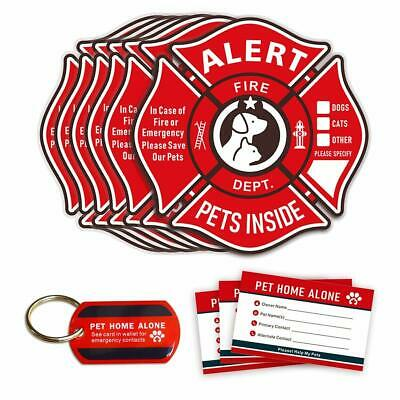 Astounding Dog Cat Home Alone Pet Emergency Id Wallet Medical Alert Beutiful Home Inspiration Aditmahrainfo