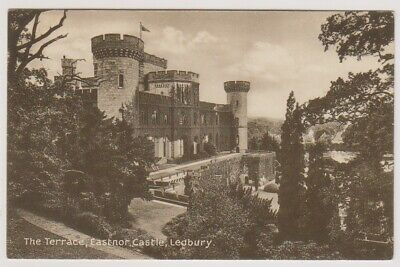 Herefordshire postcard - The Terrace, Eastnor Castle, Ledbury (A163)