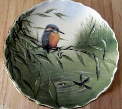 Spode Decorative Plate British Birds Kingfisher No 1 Fine bone china Brand New