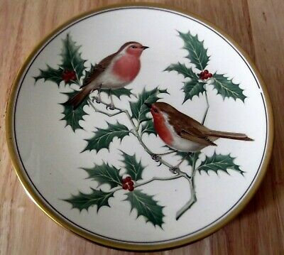 Spode Decorative Plate British Birds Robin Redbreast  Fine bone china Brand New