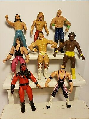 Lot of 5 Protective Display Case WWE Retro Mattel Wrestling Figures WWF Hasbro