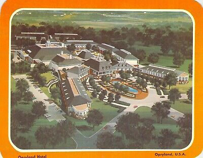 postcard BIG 5.25x6.75 Opryland HOTEL Artist Drawn Opryland, USA Nashville, TN