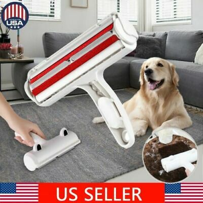Pet Hair Remover Roller Self Cleaning Dog & Cat Hair Remover Fur Removal Roll BJ