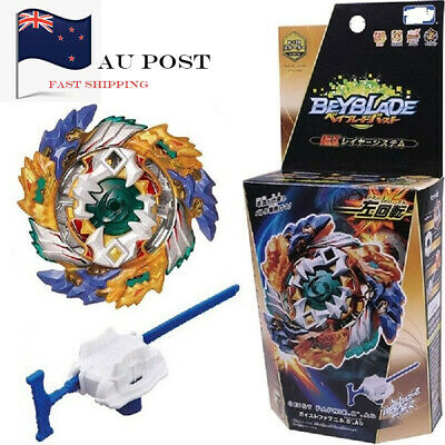AU STOCK-Beyblade Burst B-122 Starter Geist Fafnir.8`Ab w/ Launcher and Gift Box