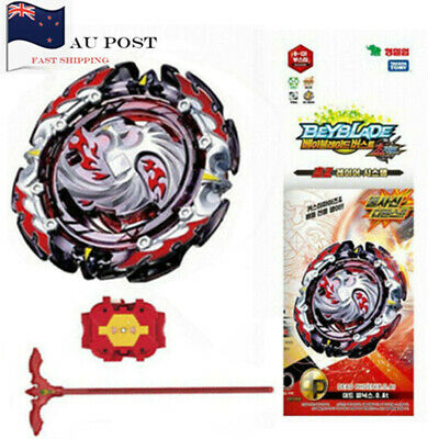 AU STOCK-Beyblade Burst B-131 Dead Phoenix.0.At Cho-Z Toy With Launcher and Box