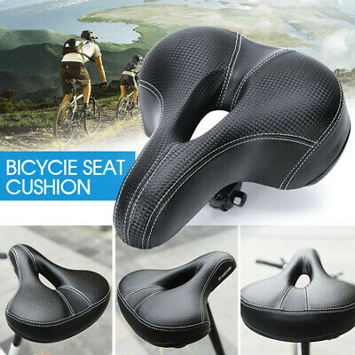 Road MTB Mountain Bike Bicycle Saddle Spring Soft Padded Seat Cushion Cover VIC