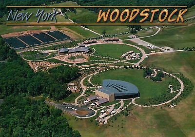 Bethel New York Site of Woodstock Festival 1969, Performing Arts Center Postcard