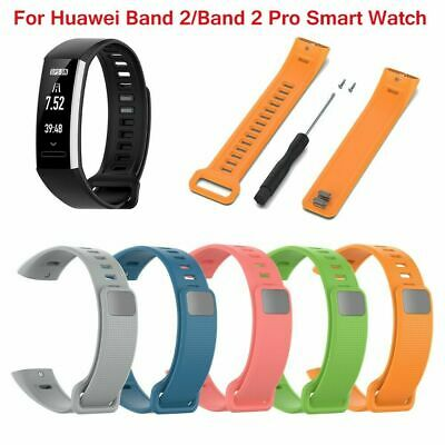 Universal Silicone Wristwatch Strap Watch Bands For Huawei Band 2 /2 Pro 19.5mm