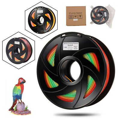 1kg Color Changing PLA 3D Printer Print Filament Multicolor 1.75mm New