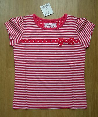 Bnwt Next Red Stripe Top Size 3-4 Years