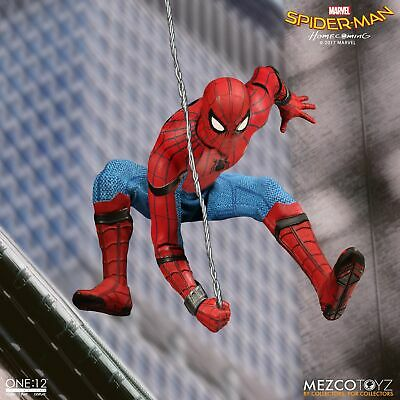 """One: 12 Collective Marvel SPIDER-MAN HOMECOMING 6"""" Action Figure Mezco In Stock"""