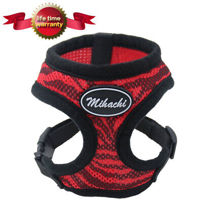 Pet Control Dog Harness Soft Puppy Vest Adjustable - Soft Mesh for Small Dogs,M