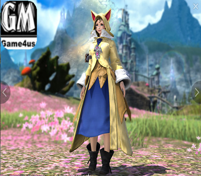 FINAL FANTASY XIV FFXIV Item Character Krile's Attire FF14 Code fast & safe
