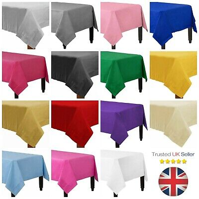 Premium Quality Disposable Paper Table Cloths / Table Covers Party UK SELLER
