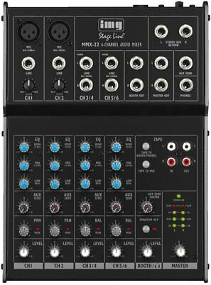 1633257-IMG Stage Line 20.2770 - Mixer professionale a 4 canali audio
