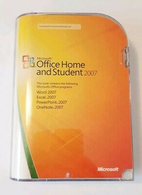 Genuine Microsoft Office Home And Student 2007 Full Version With Product Key