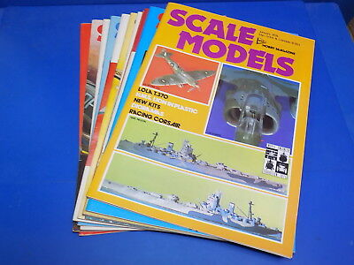 Scale Models International Magazine 1970 - 1979 Select From Back Issues