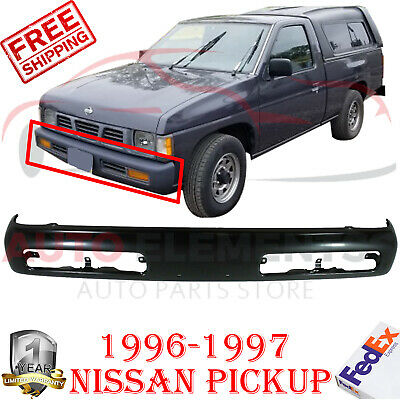Bumper for Nissan Pickup 96-97 Front Bumper Chrome 1-Piece Type From 11-95