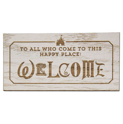 Disney Parks To All Who Come To This Happy Place WELCOME Magnet New