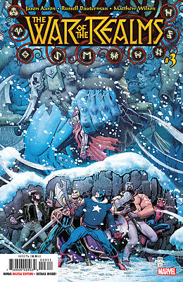 War of the Realms #3 (of 6) Marvel Comics 2019