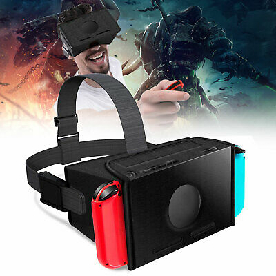 EVA VR Virtual Reality Glasses W/Headset Hook for NS Nintendo Switch Gaming USA