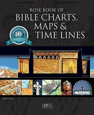 NEW - Rose Book of Bible Charts, Maps, and Time Lines