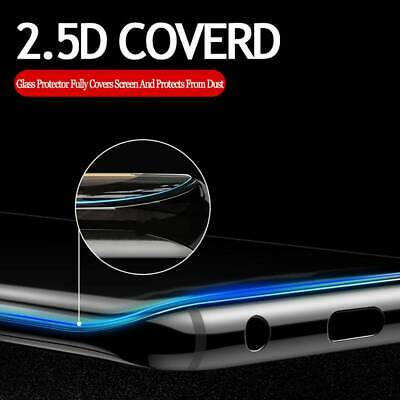 5D Full Liquid Glue UV Curved Tempered Glass Film For Samsung Galaxy S10 S9+ New