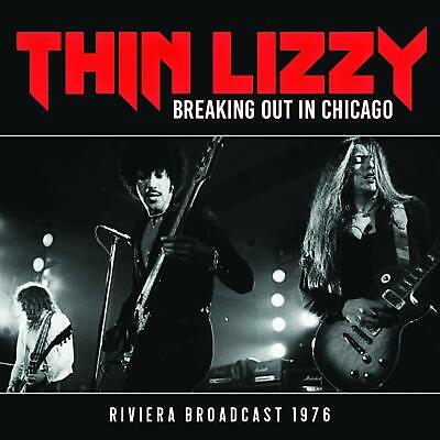 THIN LIZZY 'BREAKING OUT IN CHICAGO' (Riviera Broadcast 1976) CD (27 Sept. '19)