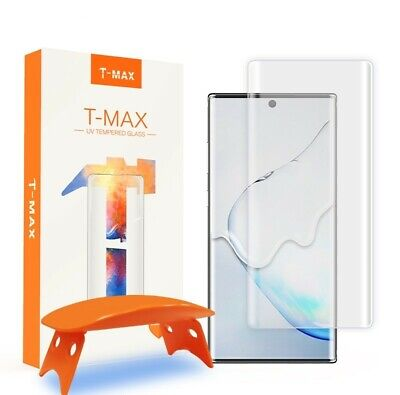 Screen Protector Full 3D Tempered T-Max UV Glass Samsung Galaxy Note 10 Plus