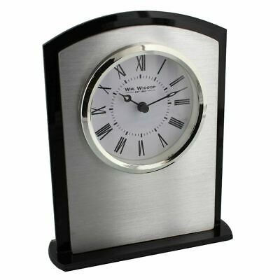 WM Widdop Arched Bezel Mantel Fireplace Clock