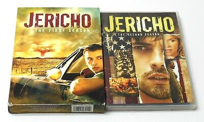 JERICHO COMPLETE CBS TV SERIES DVD Lot Seasons 1 - 2 TESTED Good Cond. FAST SHIP