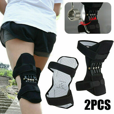 2X Power Knee Stabilizer Pad Lift Joint Support Powerful Rebound Spring Force