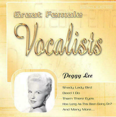 Peggy Lee - Great Femal Vocalists (CD)