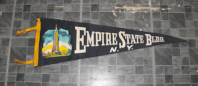 Empire State Building Pennant Vintage