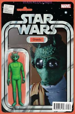 Star Wars #12 Christopher Action Figure Variant Cover Greedo Comic Book New 1