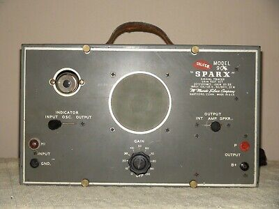 Sparx Signal Tracer Silver Model 905